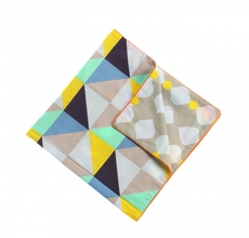 Pillow cover, Checks 50x80 cm