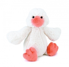 Bashful Duckling Cream Small