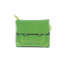 Green Satchel Coin Purse