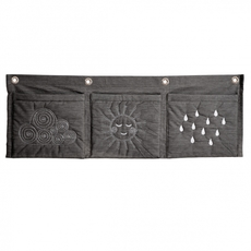 Wall Pockets - Vandret Anthracite