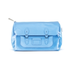 Blue Satchel Wash Bag