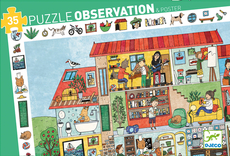 Observations puzzle, The House