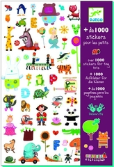 1000 Stickers For Little One