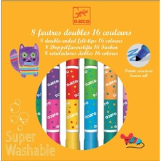 8 twins washable markers