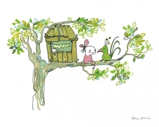 Poster Tree House 24x30