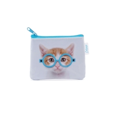 Glasses Cat Coin Purse