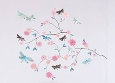 3D Wall-Stickers – Butterfly tree