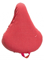Liix Saddlecover Polka Dots Red