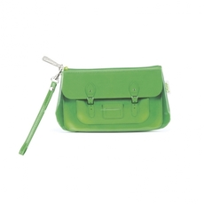 Green Satchel Wristlette
