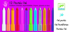 12 Gel Pastels - Girl