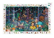 Observation puzzle, Enchanted forest