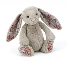 Bashful Blossom Beige Bunny Medium