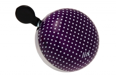 Liix Mini Ding Dong Bell Polka Dots Purple